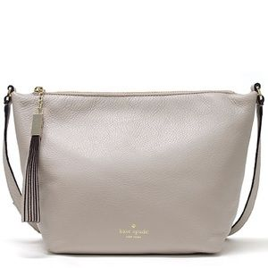 Kate Spade ♠️Sandie Grey Street Leather Crossbody